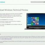 La Previa Técnica de Windows pesa alrededor de los 4 GB, aquí es donde será la descarga