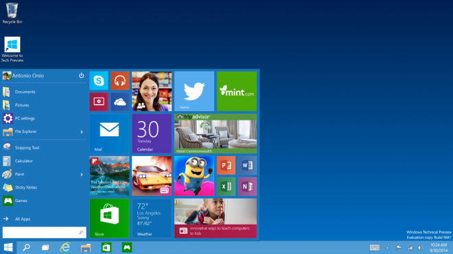 Windows 10 Preview