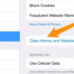 Cómo Limpiar el Historial, el Caché y las Cookies en Safari en iPhone o iPad