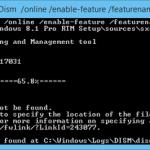 Errores 0x800F0906 y 0x800F081F al Instalar .NET Framework 3.5 en Windows 8/8.1