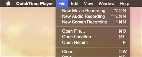 Grabar la Pantalla de Mac OS X