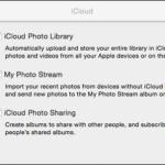 Como Deshabilitar la opción de Compartir Fotos y Videos de iCloud en OS X.