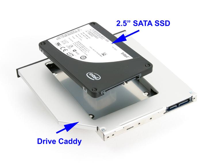 SSD CADDY