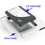 Cambiar la unidad de DVD del portatil por un SSD