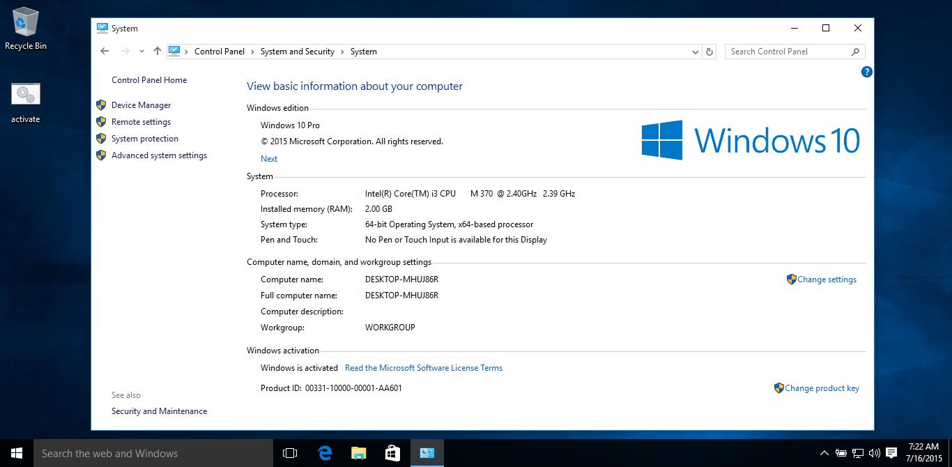 activador de windows 10 gratis