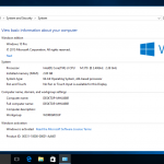 Cómo activar Windows 10 build 10240