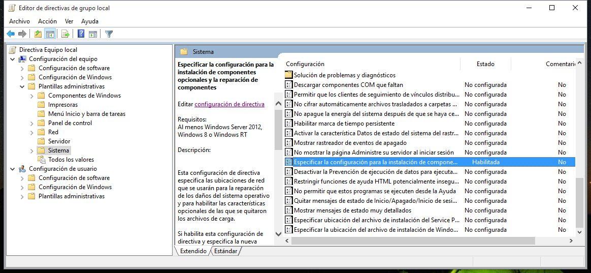 Instalar Microsoft .NET Framework 3.5