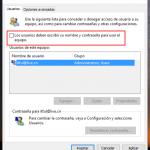 Cómo Iniciar Sesión en Windows 10 Automáticamente sin Usar Contraseña