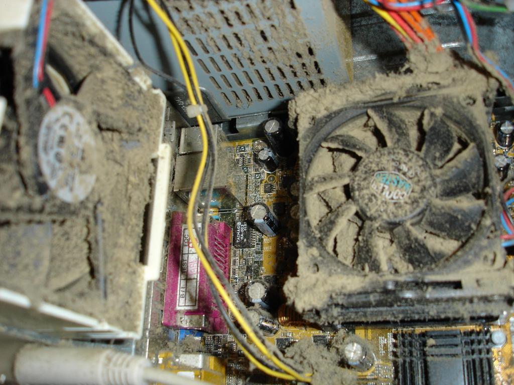 Limpiar el ventilador de su CPU