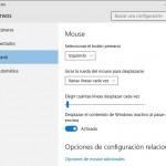 Cómo cambiar la Velocidad de Desplazamiento del Mouse en Windows 10