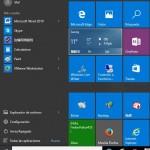 ¿Cómo personalizar los azulejos en el Menú Inicio de Windows 10?