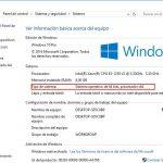 ¿Cómo saber si mi Windows 10 es de 32 o 64 bits? ¿Cuál es la diferencia entre ellos?