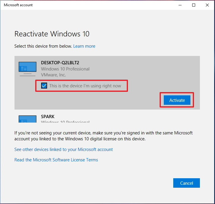 Reactivar Windows 10