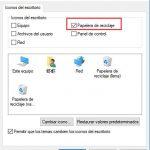 ¿Cómo puedo recuperar la Papelera de Reciclaje en mi escritorio de Windows 10?