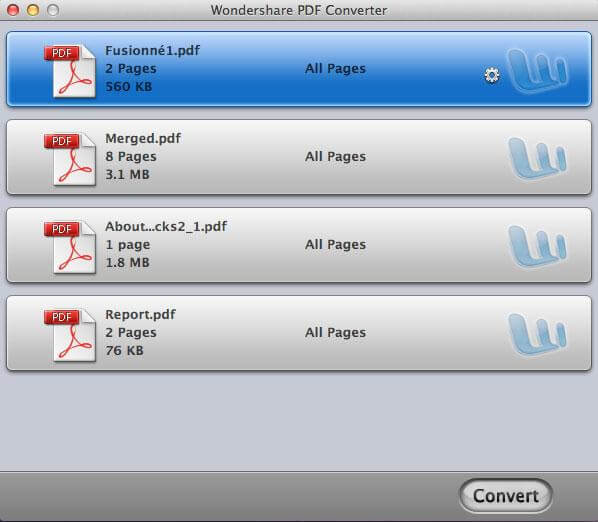 Wondershare PDF Converter para Mac