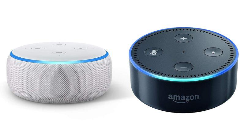 Echo Dot 3 vs Echo Dot 2